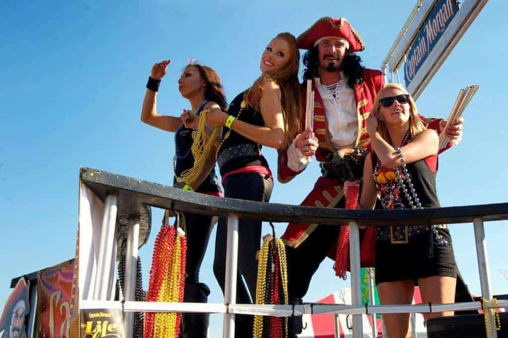 tampa party bus - Gasparilla pirate festival party bus and limo bus service