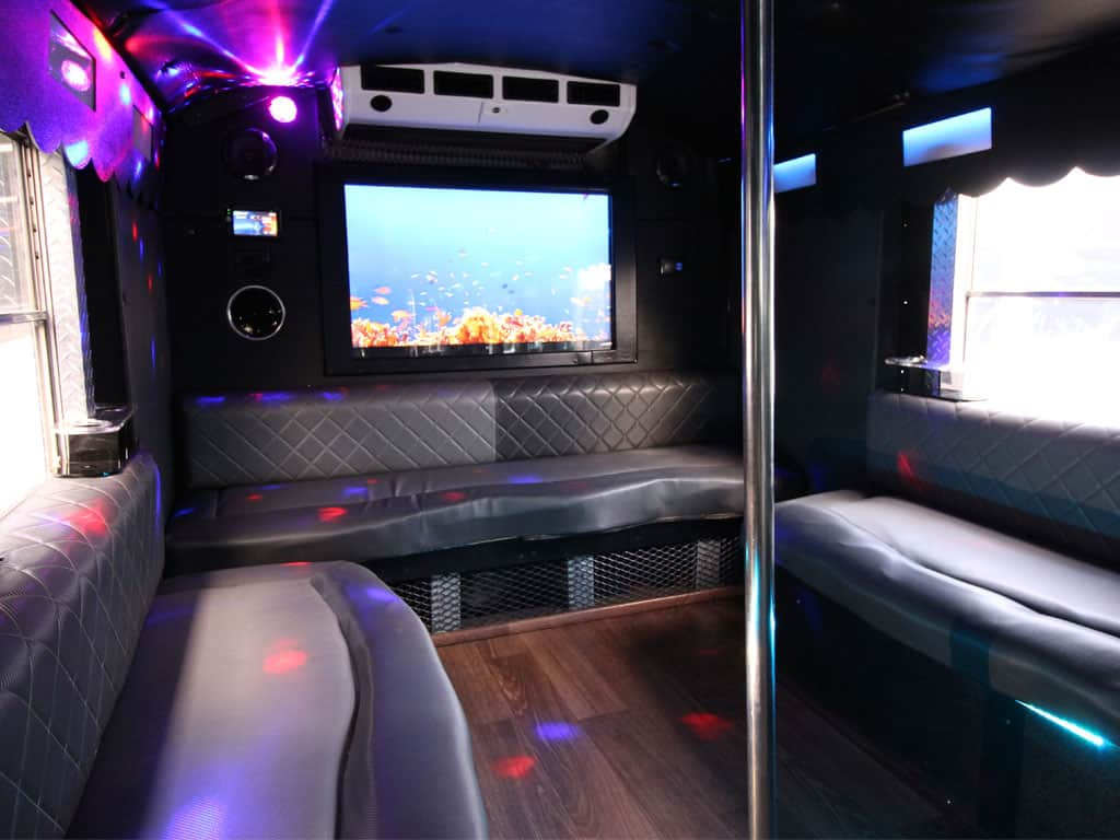 party bus limousine service tampa by l3limo – 34 guests party bus