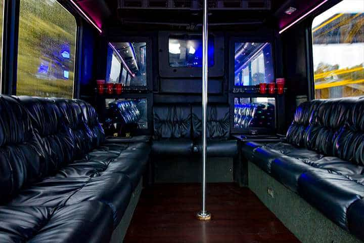 party bus limo service tampa by l3limo – 18 guests party bus