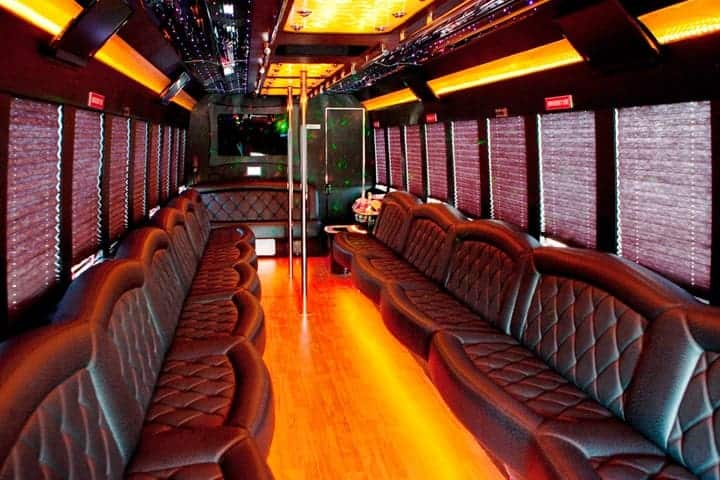 party bus limousine service tampa by l3limo – 39 guests party bus